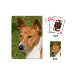 Basenji 2 Playing Cards (mini)