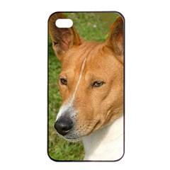 Basenji 2 Apple Iphone 4/4s Seamless Case (black)