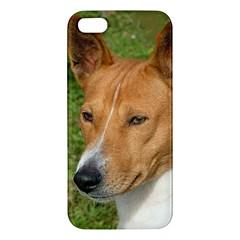 Basenji 2 Apple Iphone 5 Premium Hardshell Case