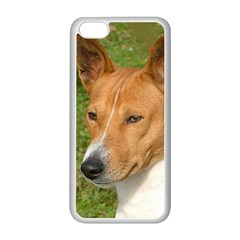 Basenji 2 Apple Iphone 5c Seamless Case (white)