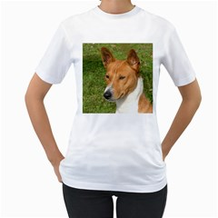 Basenji 2 Women s T Shirt (white)