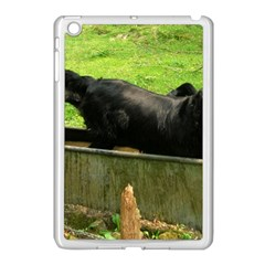 2 Full Flat Coated Retriever Apple Ipad Mini Case (white)