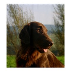 Flat Coated Retriever Shower Curtain 66  X 72  (large)