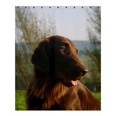 Flat Coated Retriever Shower Curtain 60  X 72  (medium)