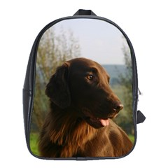 Flat Coated Retriever School Bag (xl)