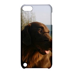 Flat Coated Retriever Apple Ipod Touch 5 Hardshell Case With Stand