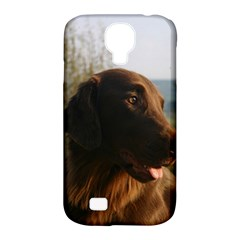 Flat Coated Retriever Samsung Galaxy S4 Classic Hardshell Case (pc+silicone)