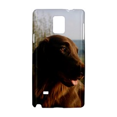 Flat Coated Retriever Samsung Galaxy Note 4 Hardshell Case