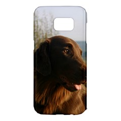 Flat Coated Retriever Samsung Galaxy S7 Edge Hardshell Case
