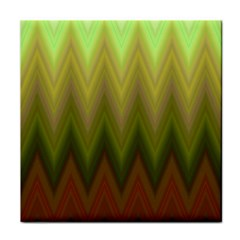 Zig Zag Chevron Classic Pattern Tile Coasters