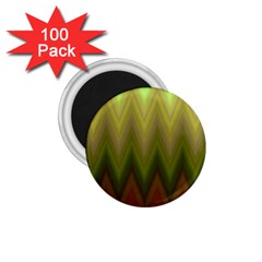 Zig Zag Chevron Classic Pattern 1 75  Magnets (100 Pack)