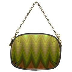 Zig Zag Chevron Classic Pattern Chain Purses (two Sides)