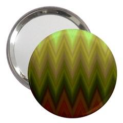 Zig Zag Chevron Classic Pattern 3  Handbag Mirrors