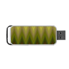 Zig Zag Chevron Classic Pattern Portable Usb Flash (two Sides)