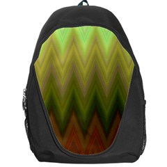 Zig Zag Chevron Classic Pattern Backpack Bag