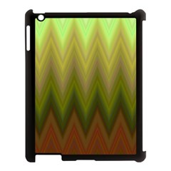 Zig Zag Chevron Classic Pattern Apple Ipad 3/4 Case (black)