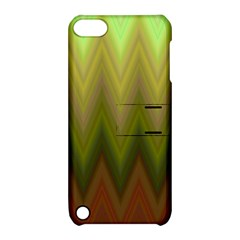 Zig Zag Chevron Classic Pattern Apple Ipod Touch 5 Hardshell Case With Stand