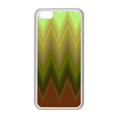 Zig Zag Chevron Classic Pattern Apple Iphone 5c Seamless Case (white)
