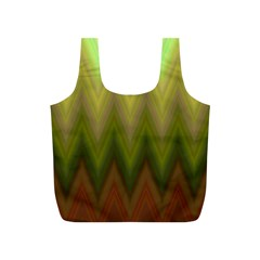 Zig Zag Chevron Classic Pattern Full Print Recycle Bags (s)