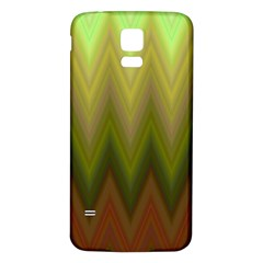 Zig Zag Chevron Classic Pattern Samsung Galaxy S5 Back Case (white)