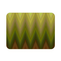 Zig Zag Chevron Classic Pattern Double Sided Flano Blanket (mini)