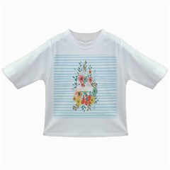 Watercolor Bouquet Floral White Infant/toddler T Shirts