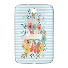Watercolor Bouquet Floral White Samsung Galaxy Note 8 0 N5100 Hardshell Case