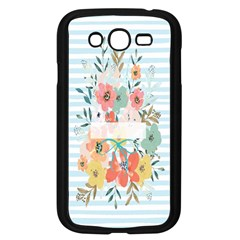 Watercolor Bouquet Floral White Samsung Galaxy Grand Duos I9082 Case (black)
