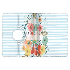 Watercolor Bouquet Floral White Kindle Fire Hdx Flip 360 Case