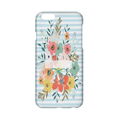 Watercolor Bouquet Floral White Apple Iphone 6/6s Hardshell Case