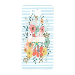 Watercolor Bouquet Floral White Samsung Galaxy Alpha Hardshell Back Case