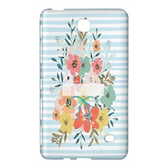 Watercolor Bouquet Floral White Samsung Galaxy Tab 4 (8 ) Hardshell Case