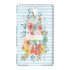 Watercolor Bouquet Floral White Samsung Galaxy Tab S (8 4 ) Hardshell Case