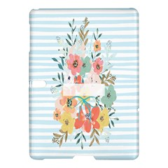 Watercolor Bouquet Floral White Samsung Galaxy Tab S (10 5 ) Hardshell Case