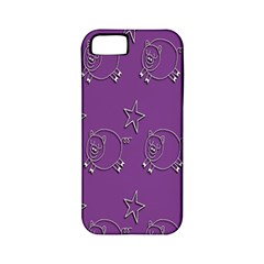Pig Star Pattern Wallpaper Vector Apple Iphone 5 Classic Hardshell Case (pc+silicone)