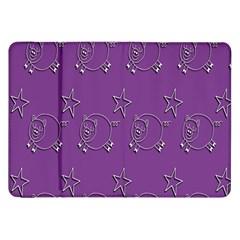 Pig Star Pattern Wallpaper Vector Samsung Galaxy Tab 8 9  P7300 Flip Case
