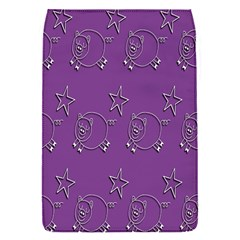 Pig Star Pattern Wallpaper Vector Flap Covers (s)