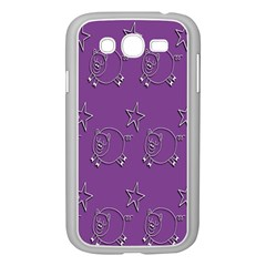 Pig Star Pattern Wallpaper Vector Samsung Galaxy Grand Duos I9082 Case (white)