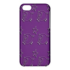 Pig Star Pattern Wallpaper Vector Apple Iphone 5c Hardshell Case