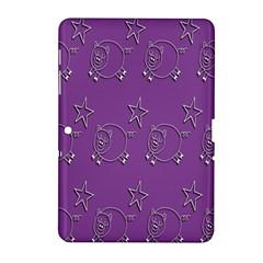 Pig Star Pattern Wallpaper Vector Samsung Galaxy Tab 2 (10 1 ) P5100 Hardshell Case