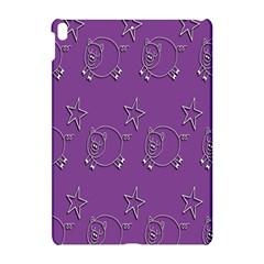 Pig Star Pattern Wallpaper Vector Apple Ipad Pro 10 5   Hardshell Case