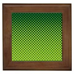 Halftone Circle Background Dot Framed Tiles