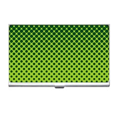 Halftone Circle Background Dot Business Card Holders