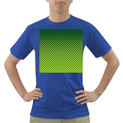 Halftone Circle Background Dot Dark T Shirt