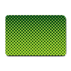Halftone Circle Background Dot Small Doormat