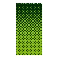 Halftone Circle Background Dot Shower Curtain 36  X 72  (stall)