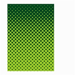 Halftone Circle Background Dot Small Garden Flag (two Sides)
