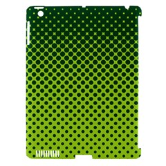 Halftone Circle Background Dot Apple Ipad 3/4 Hardshell Case (compatible With Smart Cover)