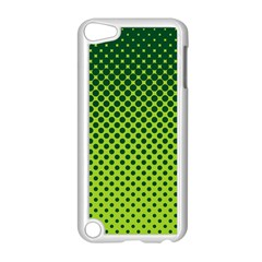 Halftone Circle Background Dot Apple Ipod Touch 5 Case (white)