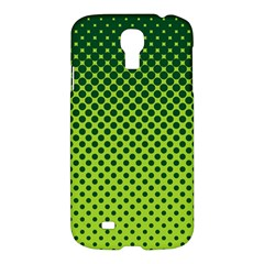Halftone Circle Background Dot Samsung Galaxy S4 I9500/i9505 Hardshell Case